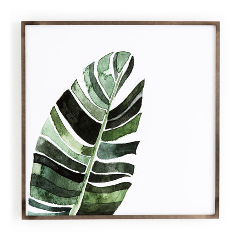 Banana Leaf Wall Art by Jess Engle