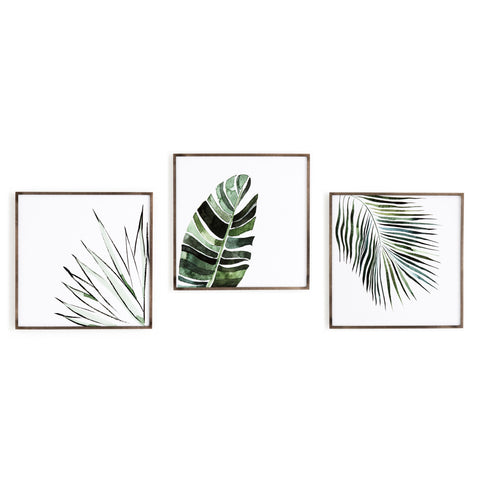 Botanicals in Watercolor Wall Art Set by Jess Engle