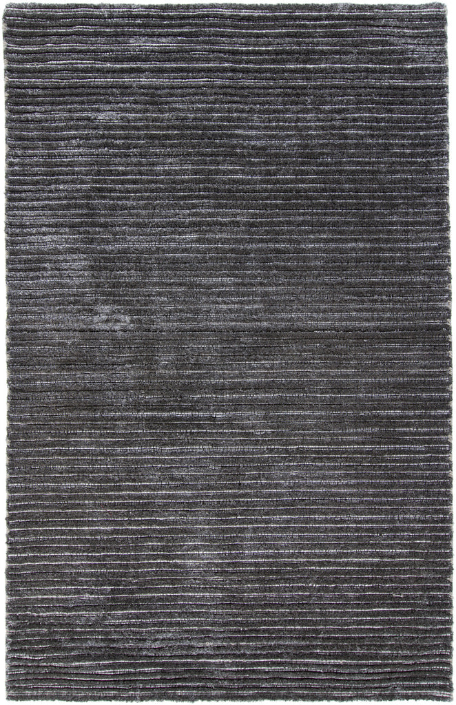 Ulrika Collection Hand-Woven Area Rug in Grey