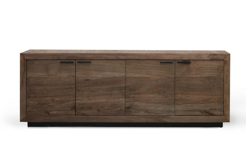 Couric 4 Door Sideboard in Spalted Alder by BD Studio