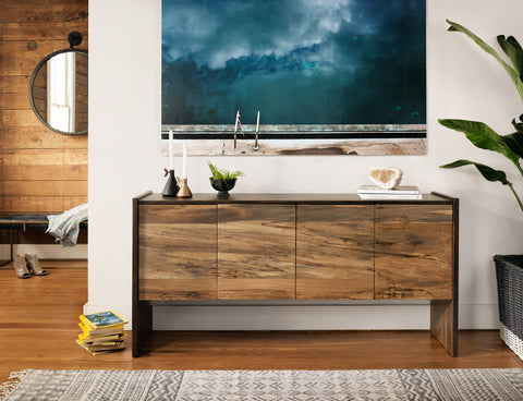 Isla Sideboard In Spalted Primavera
