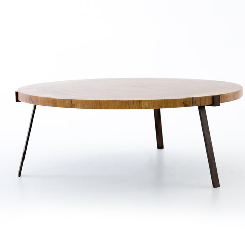 Exeter Coffee Table in Blonde by BD Studio