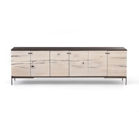 Cuzco Media Console In Bleached Yukas