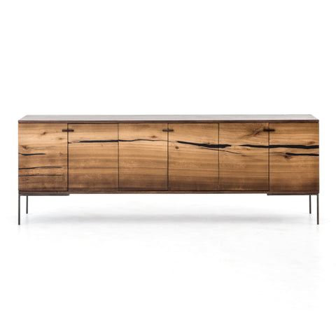 Cuzco Media Console in Natural Yukas by BD Studio
