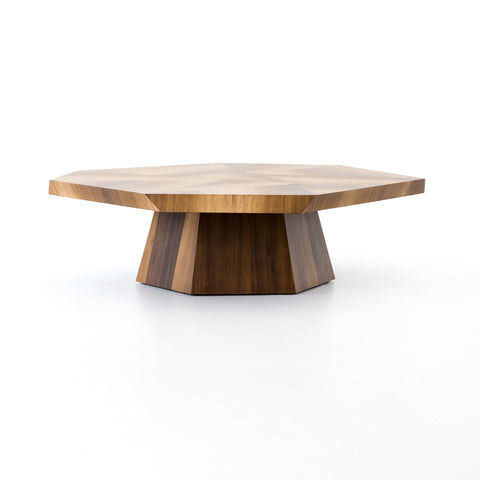 Brooklyn Coffee Table in Blonde Yukas by BD Studio