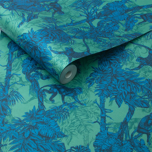 Ubud Wallpaper in Tropic from the Exclusives Collection by Graham & Brown