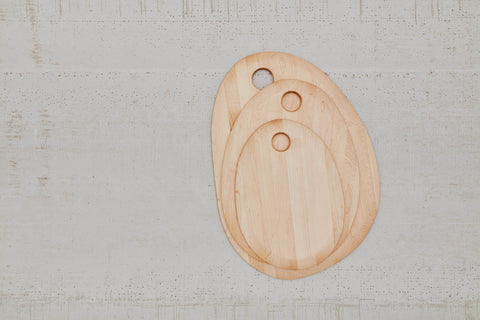 Simple Cutting Board in Various Finishes & Sizes design by Hawkins New York