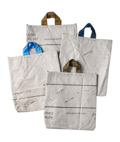 Recycled Tarp Tote Bag - Large