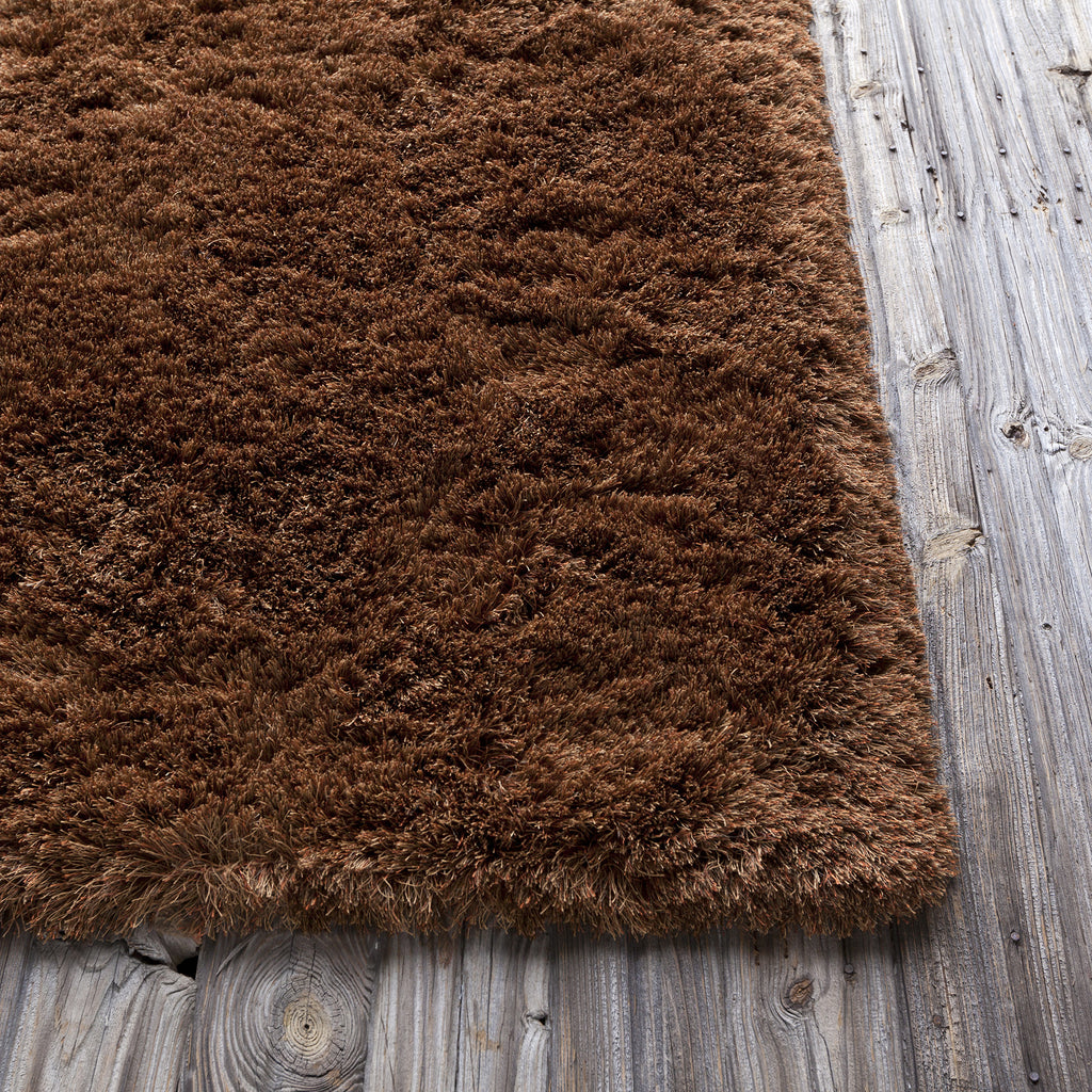 Vani Collection Hand-Woven Area Rug in Brown & Rust design by Chandra rugs