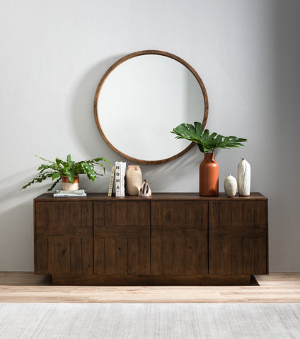 Harlan Mirror in Saddle Tan by BD Studio
