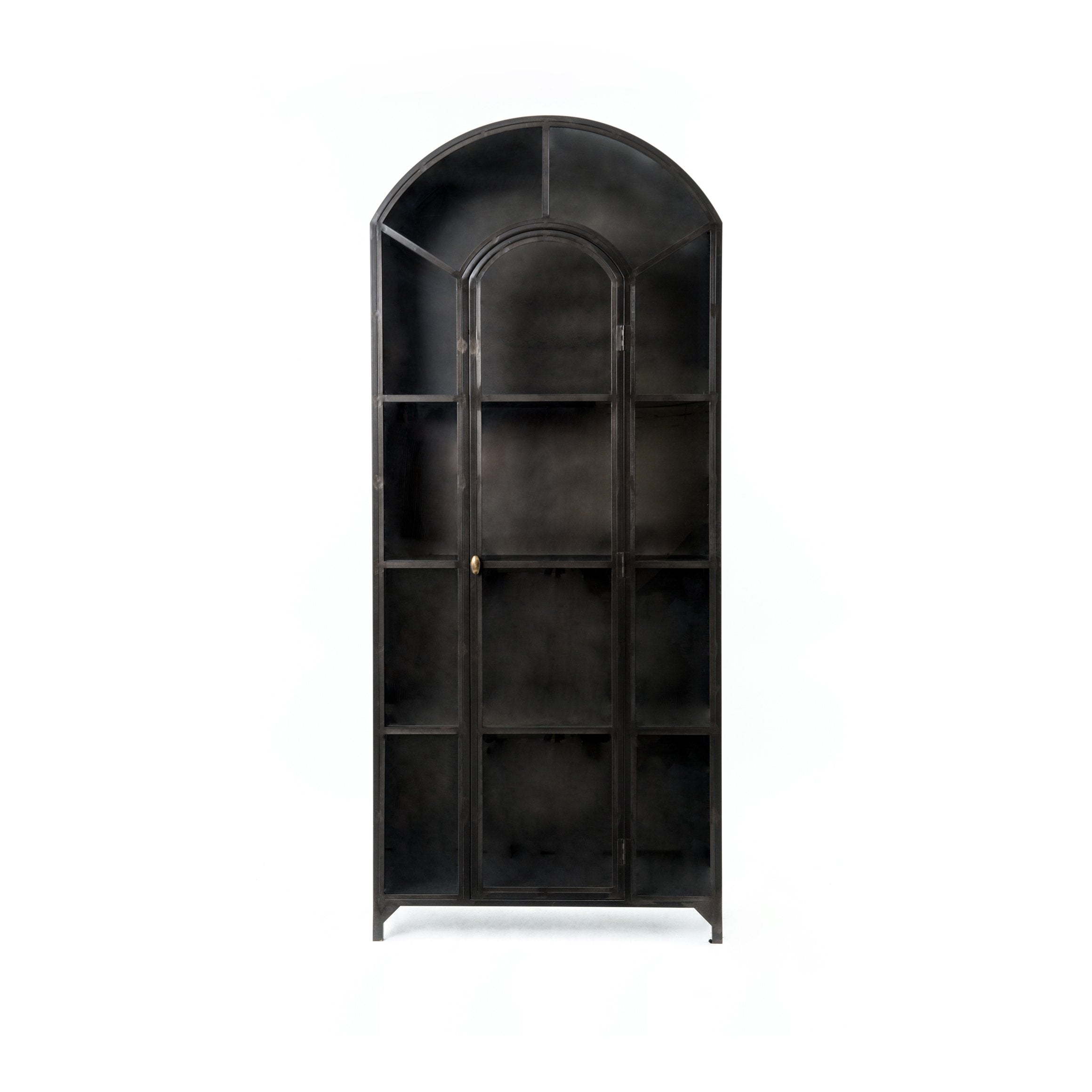 Belmont Metal Cabinet in Black