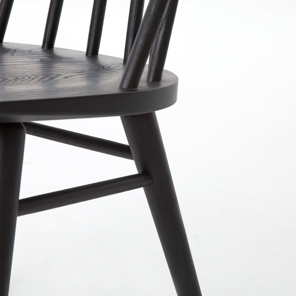 Windsor Chair in Black Oak design by BD Studio
