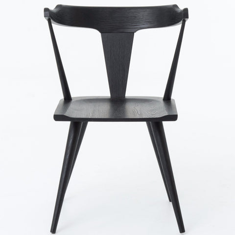 Ripley Dining Chair In Black Oak