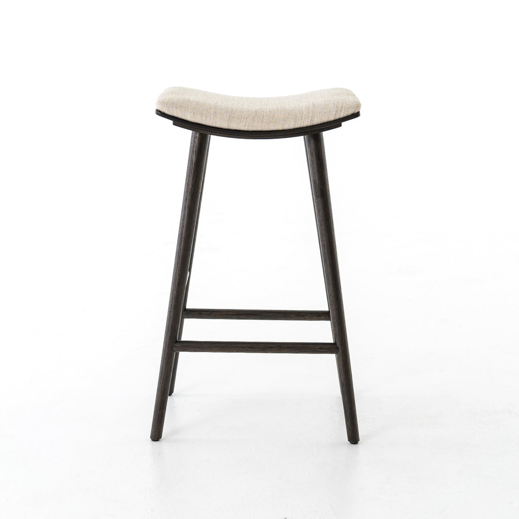 Union Saddle Bar + Counter Stools in Essence Natural by BD Studio