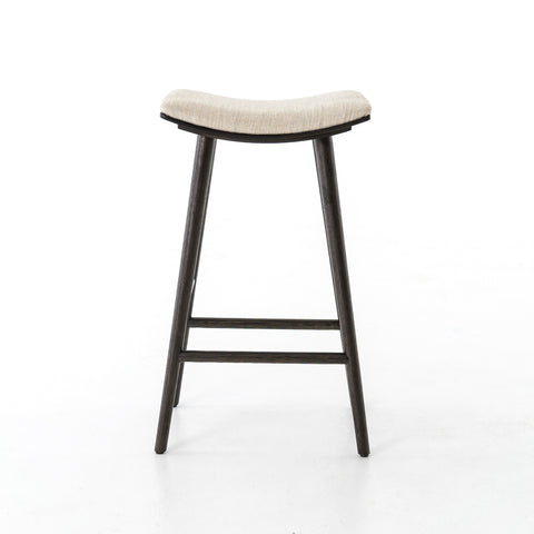 Union Saddle Bar + Counter Stools in Essence Natural