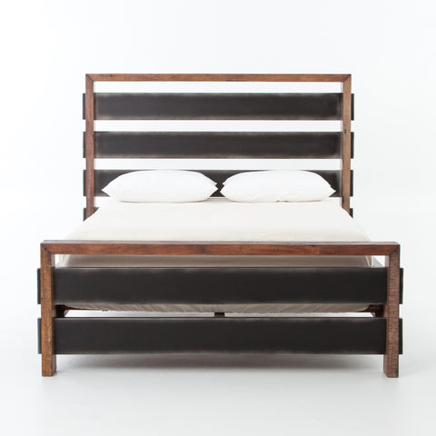 Sean Bed in Natural Peroba by BD Studio
