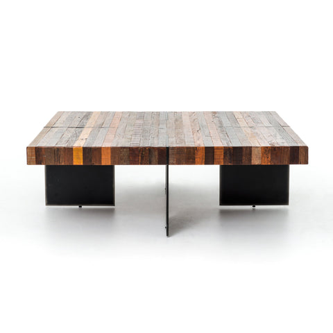Alec Coffee Table in Natural Peroba