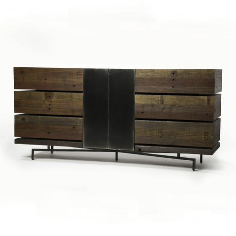 Morrisey Dresser in Natural Peroba by BD Studio
