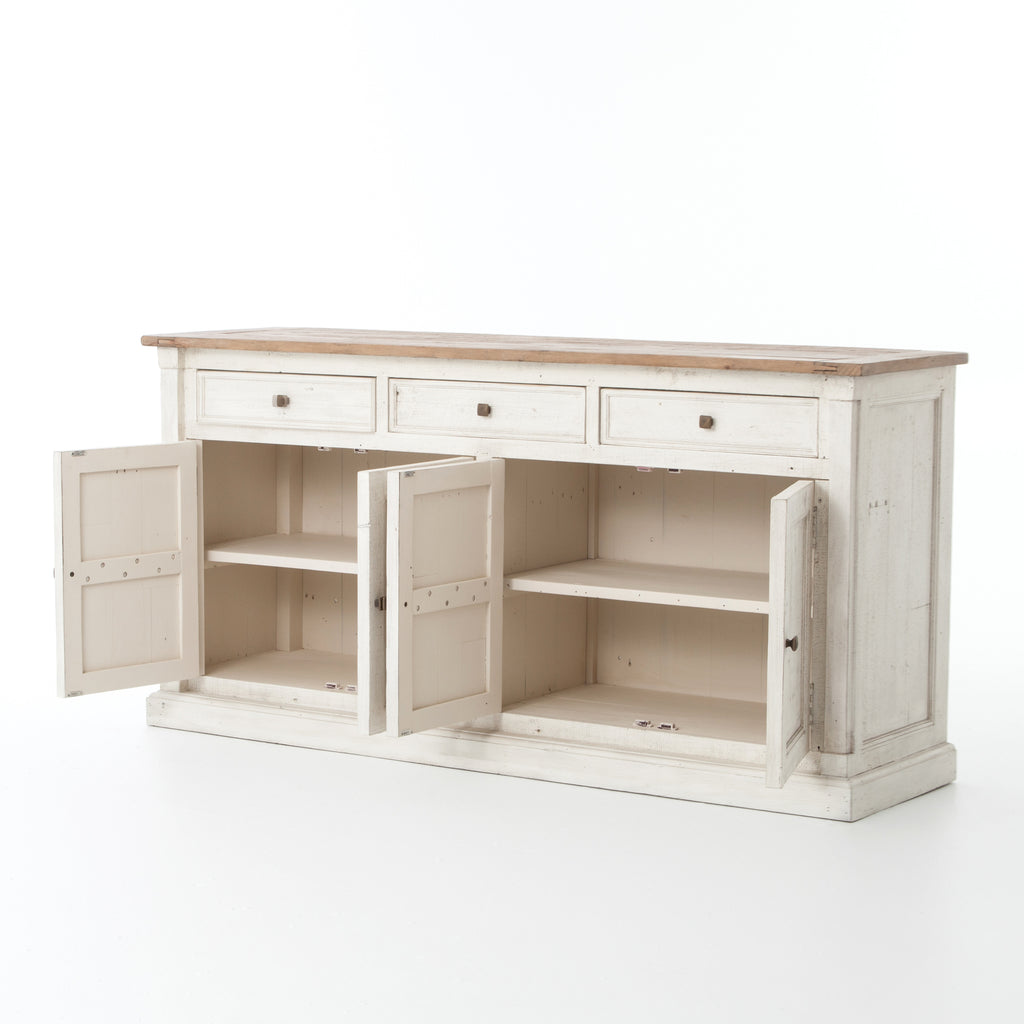 Cintra Sideboard In Limestone White