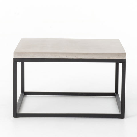 Maximus Square Coffee Table in Natural Concrete by BD Studio