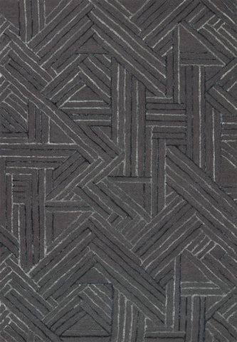 Verve Rug in Graphite / Ocean by Loloi