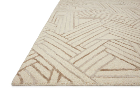 Verve Rug in Ivory / Oatmeal by Loloi