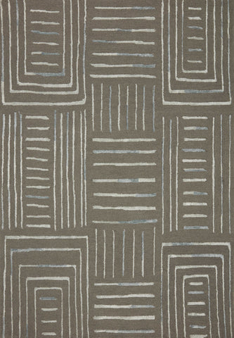 Verve Rug in Grey / Mist by Loloi