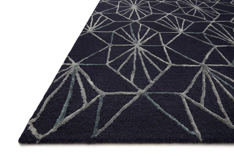 Verve Rug in Denim / Ocean by Loloi