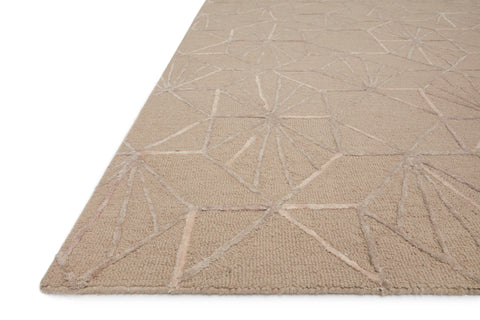Verve Rug in Sand / Blush by Loloi