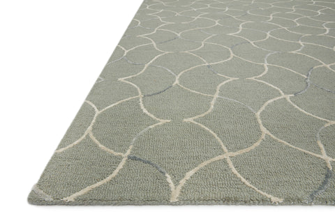 Verve Rug in Sage / Silver by Loloi