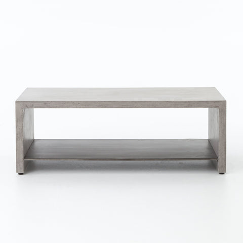 Hugo Coffee Table in Dark Grey by BD Studio