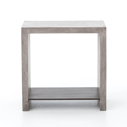 Hugo End Table in Dark Grey by BD Studio