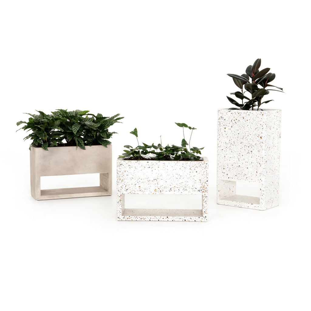 Fauna Small Outdoor Planter in Various Colors