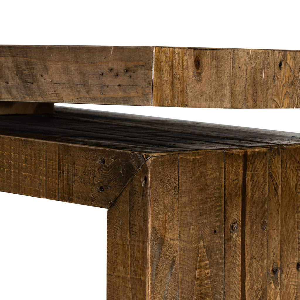 Matthes Console In Rustic Natural
