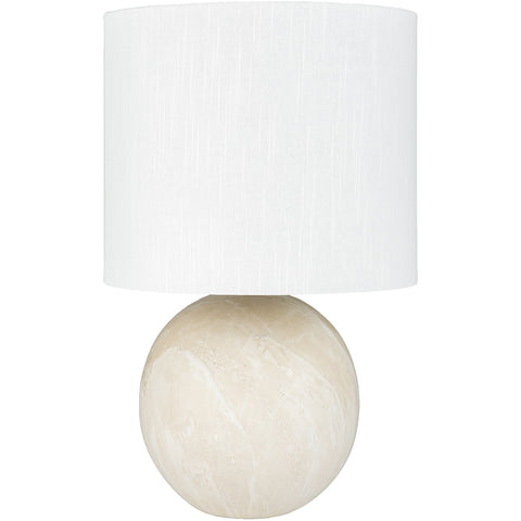Vogel VGL-002 Table Lamp in Cream & White by Surya