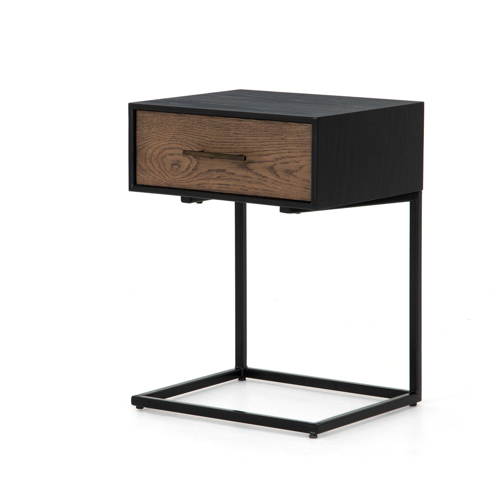 August C Shaped Nightstand