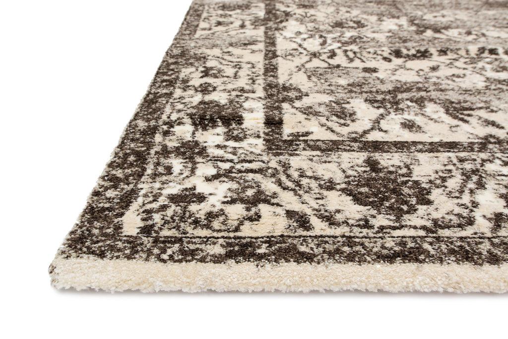 Viera Rug in Mocha & Ivory by Loloi