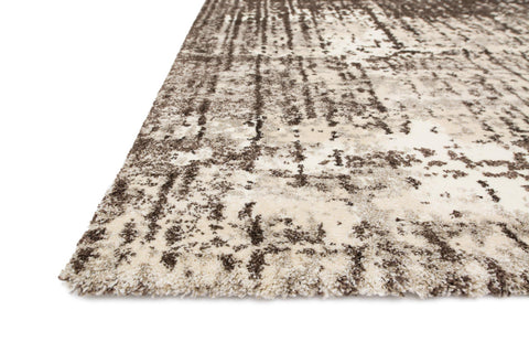 Viera Rug in Ivory & Brown by Loloi
