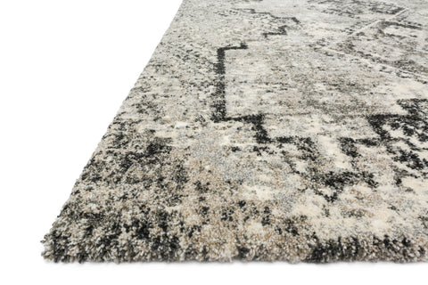 Viera Rug in Grey & Black by Loloi
