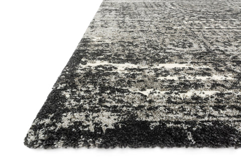 Viera Rug in Graphite & Black by Loloi