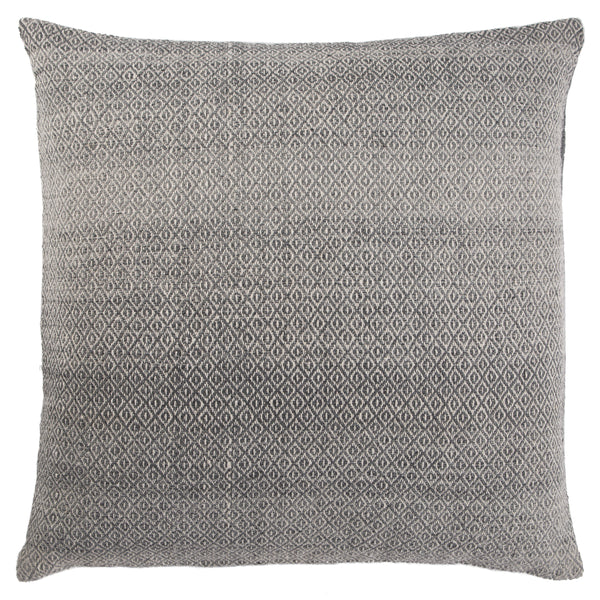 Fraser Trellis Grey Pillow design by Jaipur Living