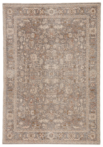 Amaris Oriental Gray & Cream Rug by Jaipur Living