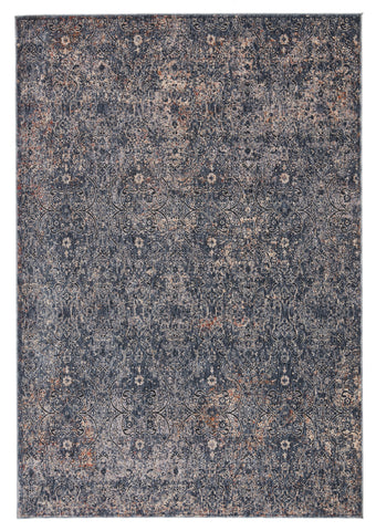 Ayvah Trellis Blue & Cream Rug by Jaipur Living