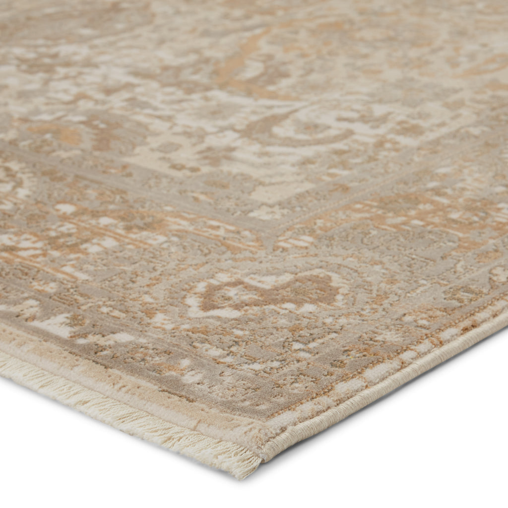 Baptiste Oriental Taupe & Cream Rug by Jaipur Living