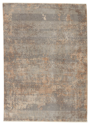 Ezri Tribal Grey & Tan Rug by Jaipur Living
