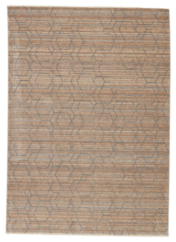 Cavendish Trellis Tan & Grey Rug by Jaipur Living