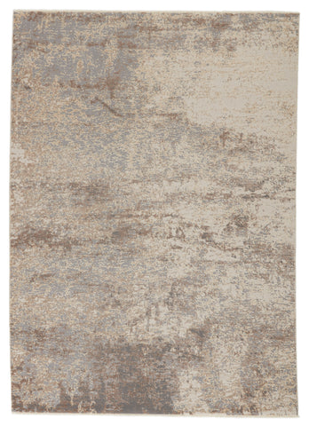 Brisa Abstract Grey & Cream Rug by Jaipur Living