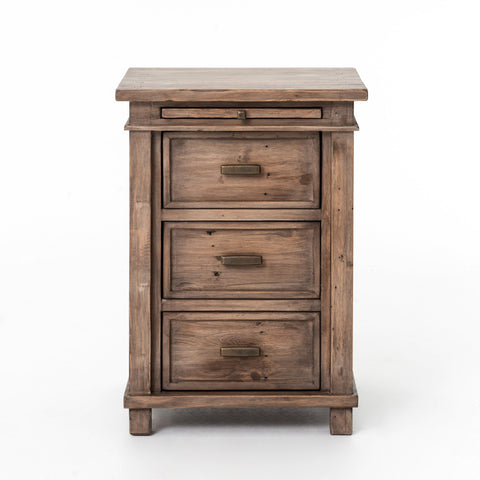 Settler Bedside Cabinet in Sundried Ash by BD Studio