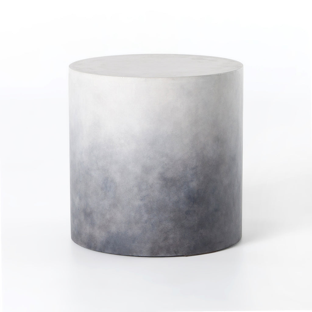 Sheridan End Table in Indigo Ombre