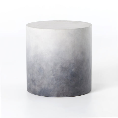 Sheridan End Table in Indigo Ombre by BD Studio